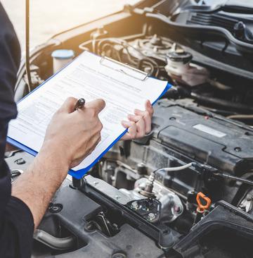 La révision de véhicule